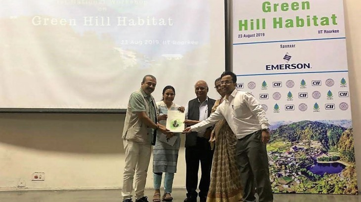First National Workshop on Green Hill Habitat, IIT Roorkee,