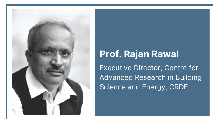 Prof. Rajan Rawal joins the elite group of ASHRAE Distinguished Lecturers (ASHRAE DL)