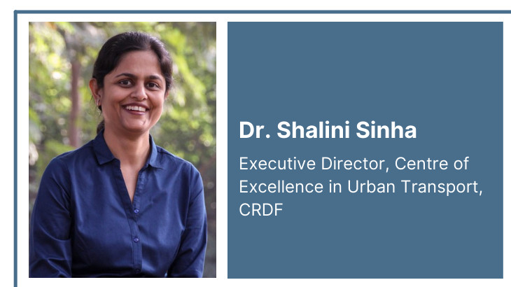 Dr. Shalini Sinha of CoE-UT delivered  a talk on cab aggregators in India