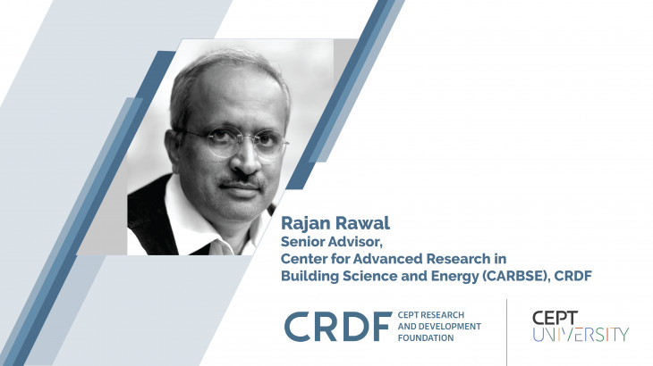 Prof. Rajan Rawal spoke to NRC about extreme weather conditions and thermal comfort