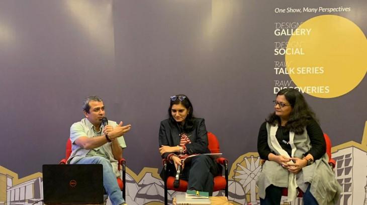 Jay Thakkar speaks at a Panel at Raw Collaborative