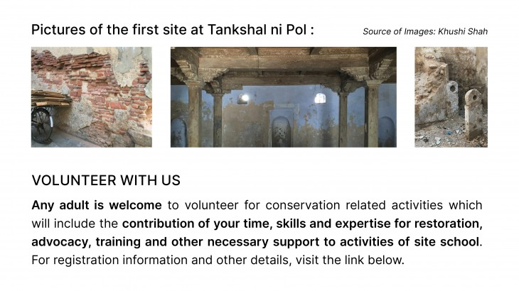 CEPT Conservation Site School: An initiative by Center for Heritage Conservation