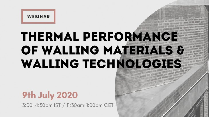 Thermal Performance of Walling Materials & Walling Technologies