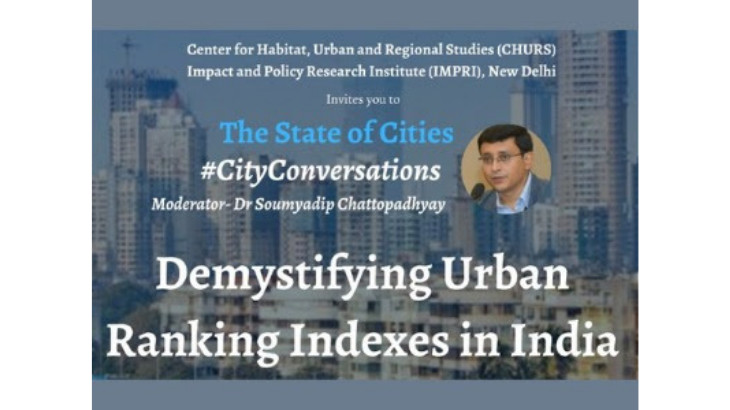 CWAS shares insights from PAS project at the 'Demystifying Urban Ranking Indexes' webinar