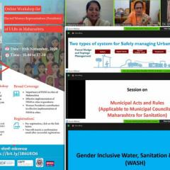 CWAS: Online workshop for Elected Women Representatives (Presidents) of ULBs in Maharashtra