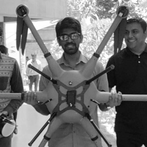 CARBSE team trained on UAV operations