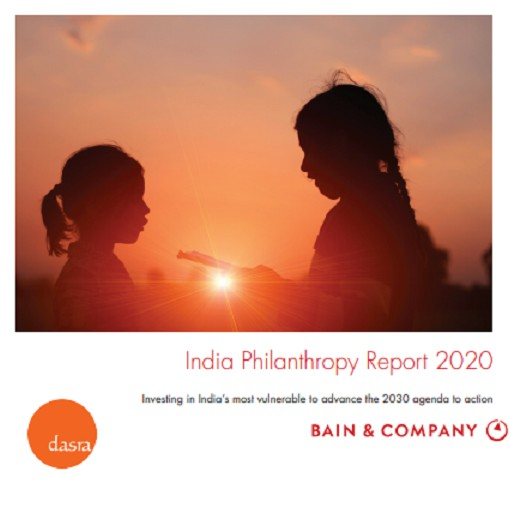 CWAS featured in India Philanthropy Report 2020 for its