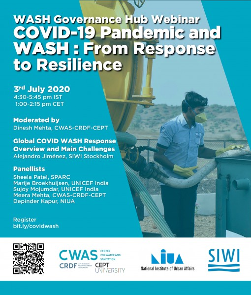 COVID-19 Pandemic and  WASH : From Response  to Resilience