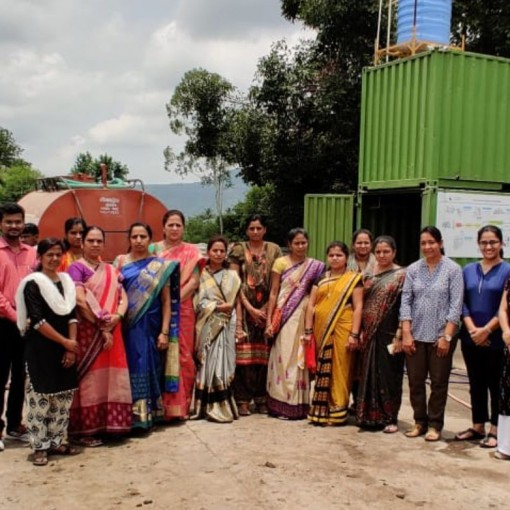 Sanitation workshop for women councilors in Wai