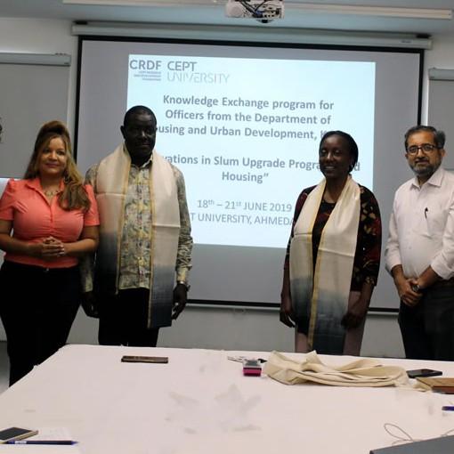 Housing workshop for Kenyan officials