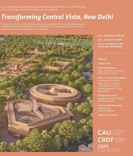 Transforming Central Vista, New Delhi.