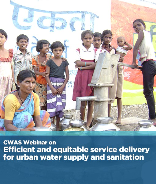 Efficient and equitable service delivery for  urban water supply and sanitation