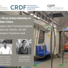 Research Paper: Impact of COVID-19 on Urban Mobility in Indian Cities