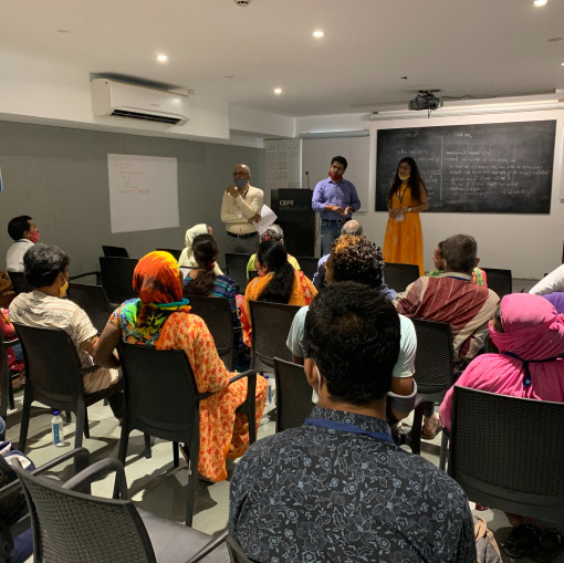 CoE-UT, CRDF organized a public stakeholder consultation for informal settlements in Ahmedabad  under UK PACT