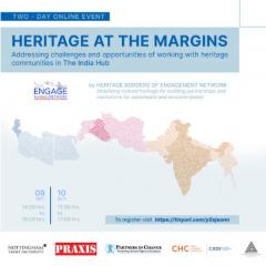 ENGAGE Network presented two-day online event titled 'Heritage on the Margins'