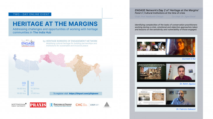 Collaboration with the Heritage Borders of Engagement Network (ENGAGE Network)