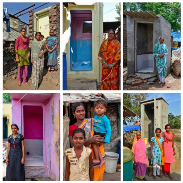 Reaching the Unserved-Access to individual household toilets in vulnerable urban areas