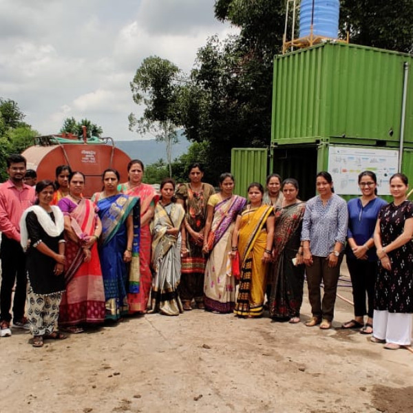 CWAS' Report: Assessment of Gender Related Interventions in CWIS Programme and Sanitation Service Delivery at Wai, Maharashtra